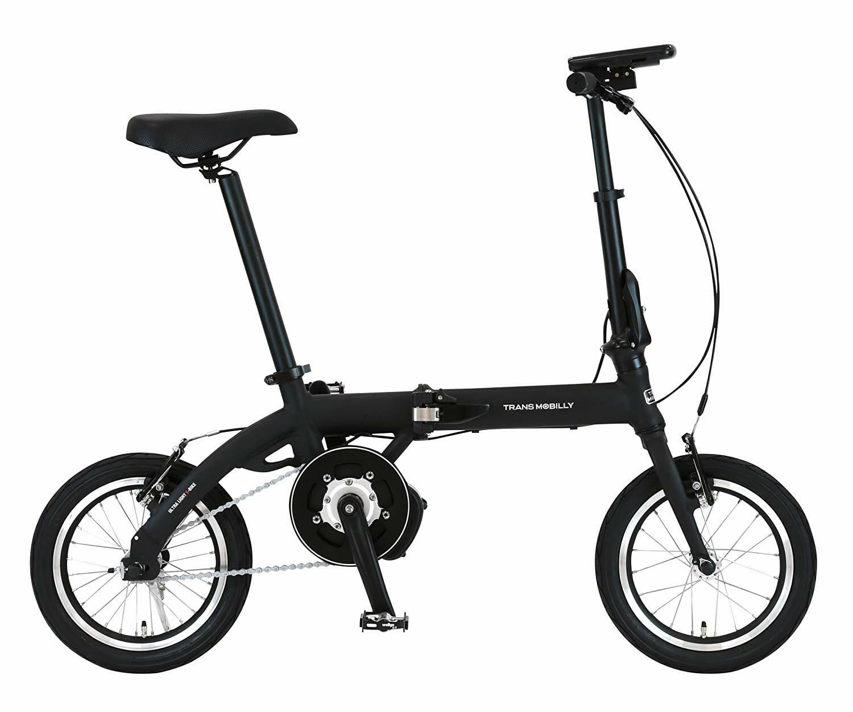 電動自転車,折りたたみ,ブラック,黒