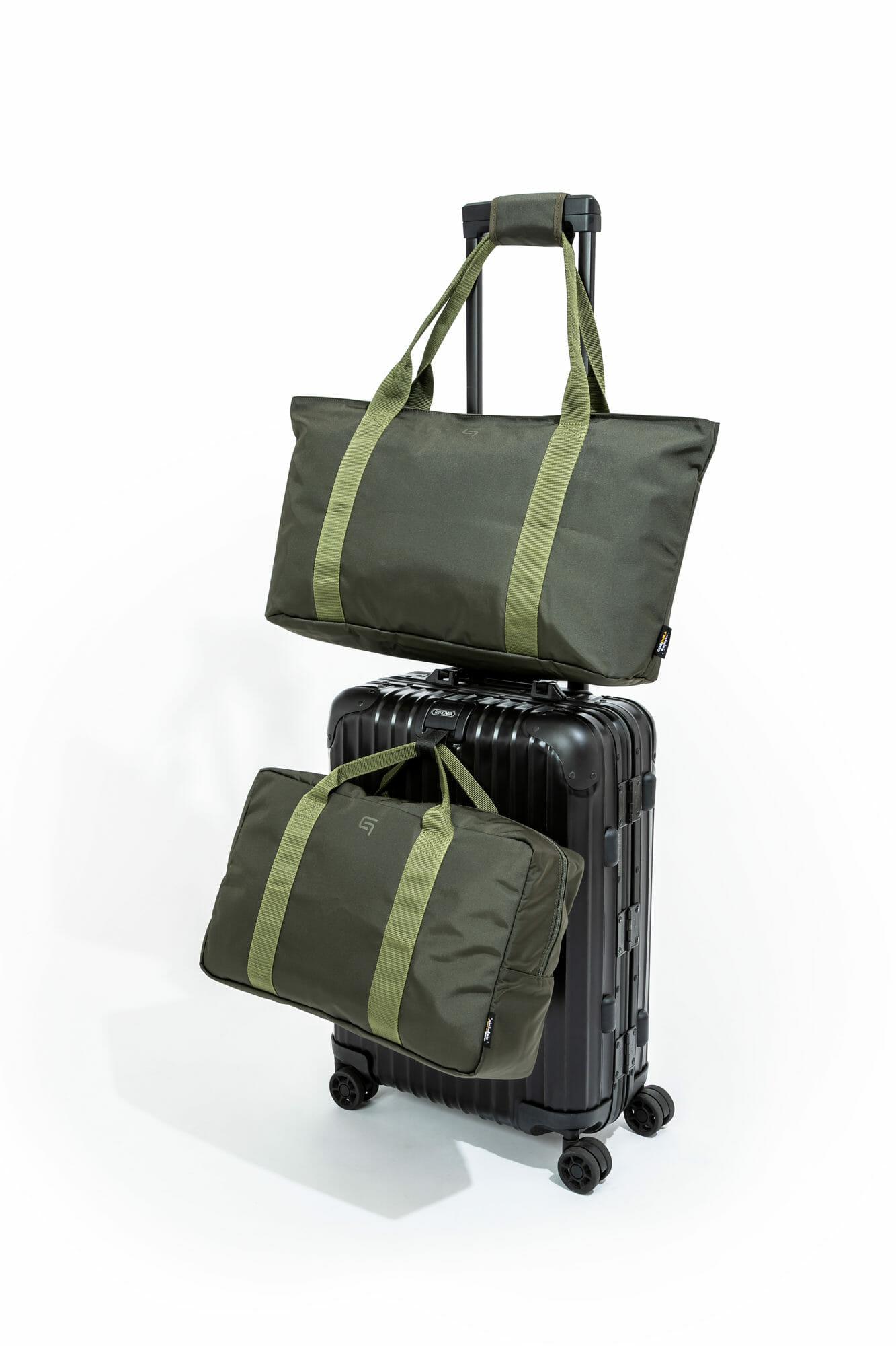 GRAMAS, 飛行機, 出張, 旅行, 機内持ち込み, 手荷物, バッグ, トラベルバッグ
