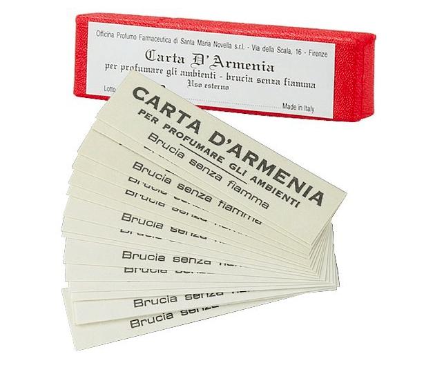 サンタマリアノヴェッラ , アルメニアペーパー, お香, 香水, アロマ, 芳香